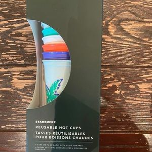 Starbucks Summer Edition Hot Cups-Set 6